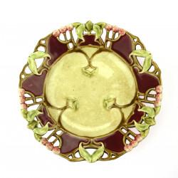 Secesní dekorativní talíř