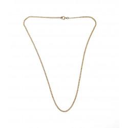 Zlatý řetízek - 49 cm