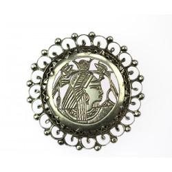 Silver brooch - Egypt
