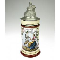 Porcelain goblet