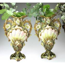 Párové keramické vázy