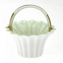 Porcelánový košíček -...