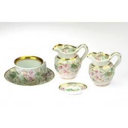 Porcelánový set - Biedermeier