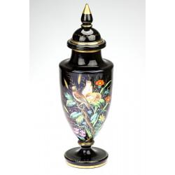 Vase with birds -...