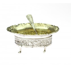 Miniature bowl with spoon
