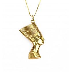 Gold chain with Nefertiti