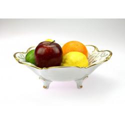 Porcelain bowl on legs