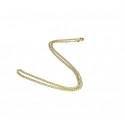 Zlatý řetízek - 43 cm