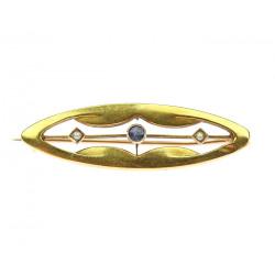 Gold brooch - Austria-Hungary
