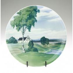Porcelánový talíř -...