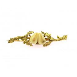 Zlatá brož s grandlemi