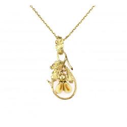 Zlatý náhrdelník s grandlemi