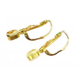Zlaté náušnice s grandlemi