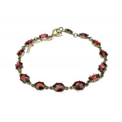 Bracelet with Bohemian garnets