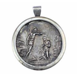 Baptist medallion -...