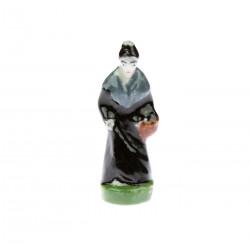 Porcelánová miniatura ženy...