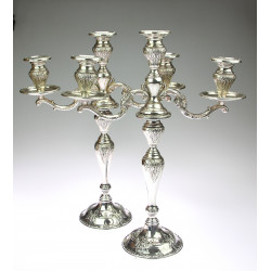 Silver Pair of Candlesticks...