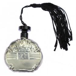 Stříbrný flakónek na parfém