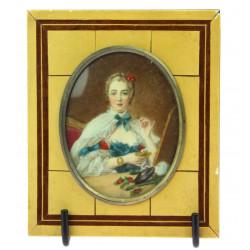 Miniatura Madame de Pompadour