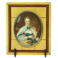 Miniature Madame de Pompadour