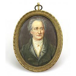Miniature Johann Wolfgang...