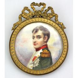 Miniatura - Napoleon Bonaparte