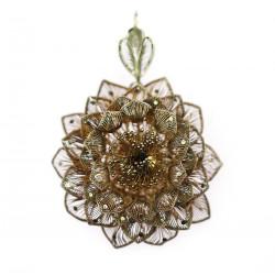 Filigránový přívěsek - květina