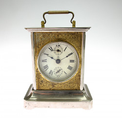 Musical carriage clock and...