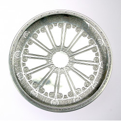 Silver table top for cakes...