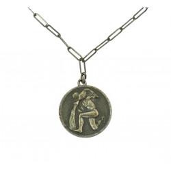 Stříbrný náhrdelník - Vodnář