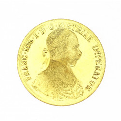 Gold coin - 4 ducat of...