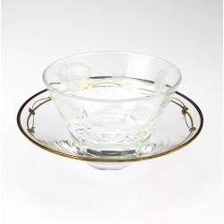 Moser glass set for caviar