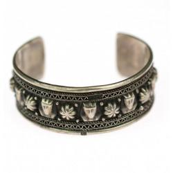 Silver Egyptian bracelet