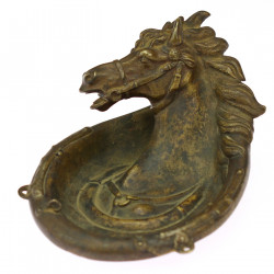 Metal ashtray - a bowl with...