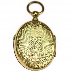 Gilded medallion