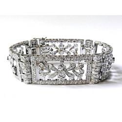 Art-deco diamond bracelet