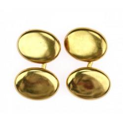 Zlaté manžetové knoflíčky -...