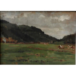 Jiří Heřman - Pastvina, 1916