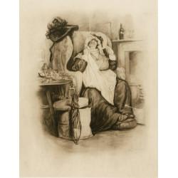Karikatura ženy