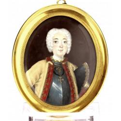 Portrait miniature of a...