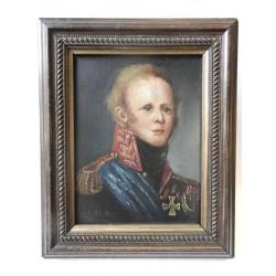 Miniature portrait of Tsar...