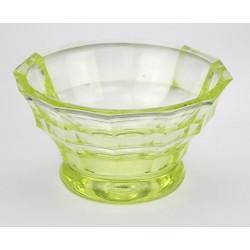 Miska z uranového skla