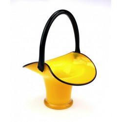 Ozdobný košík - tango sklo