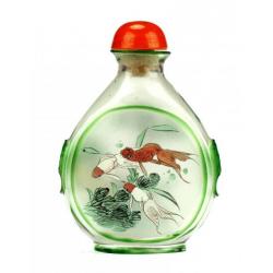 Malovaná  lahvička na opium