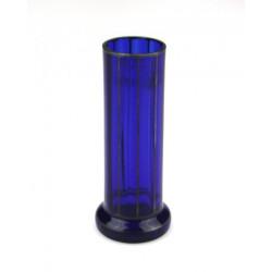 Secesní váza z kobaltového...