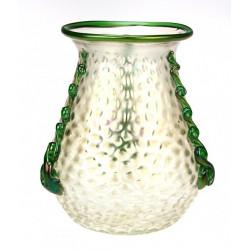Váza z irizovaného skla -...