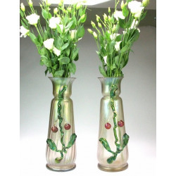 Pair of Art Nouveau vases -...