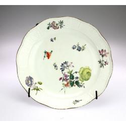 Malovaný talíř - Míšeň