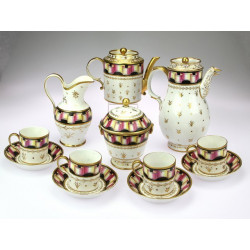 Empire style porcelain...