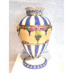 Secesní Porcelánová Váza...